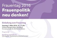 SPO¨ OO¨ Frauen - Frauentag Einladung