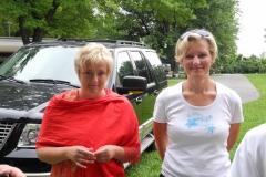 Magdalena (rechts)